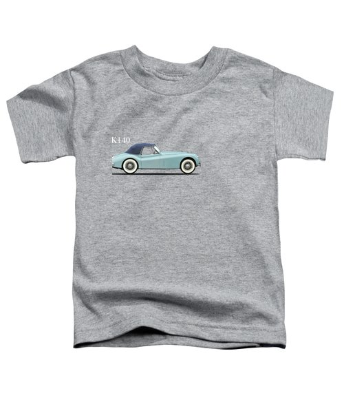 Jaguar Xk140 Toddler T-Shirt by Mark Rogan