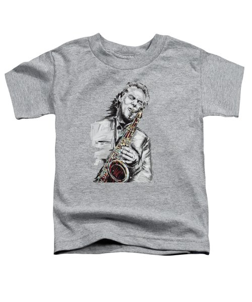 Jan Garbarek Toddler T-Shirt by Melanie D