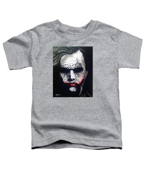 Joker Toddler T-Shirt by John Svedese
