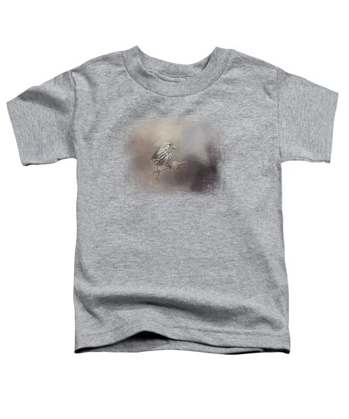 Just A Whisper Of Feathers Toddler T-Shirt by Jai Johnson
