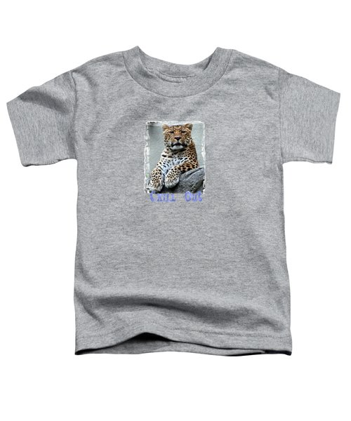 Just Chillin' Toddler T-Shirt by DJ Florek