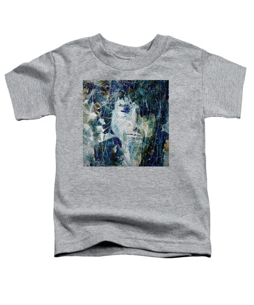 Knocking On Heaven's Door Toddler T-Shirt by Paul Lovering