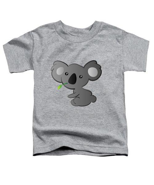 Koala Toddler T-Shirt by Hadeel ArT