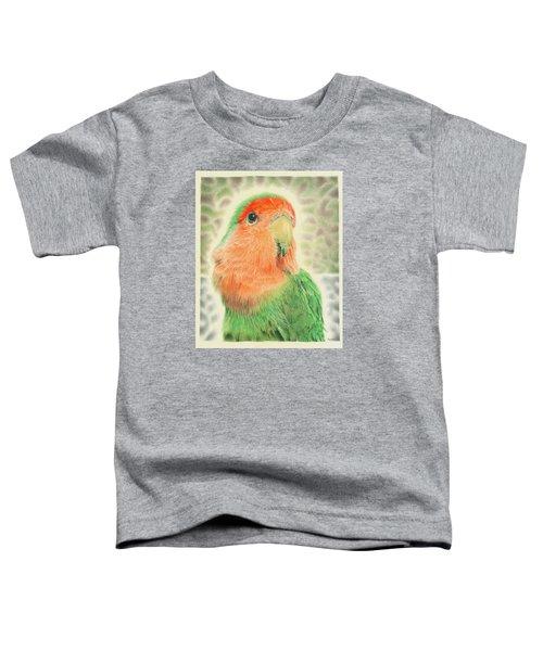 Lovebird Pilaf Toddler T-Shirt by Remrov
