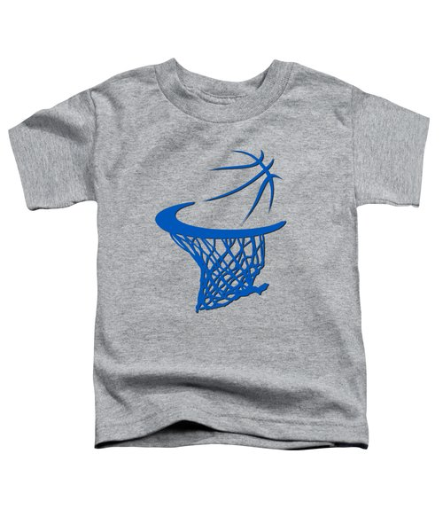 Magic Basketball Hoop Toddler T-Shirt by Joe Hamilton