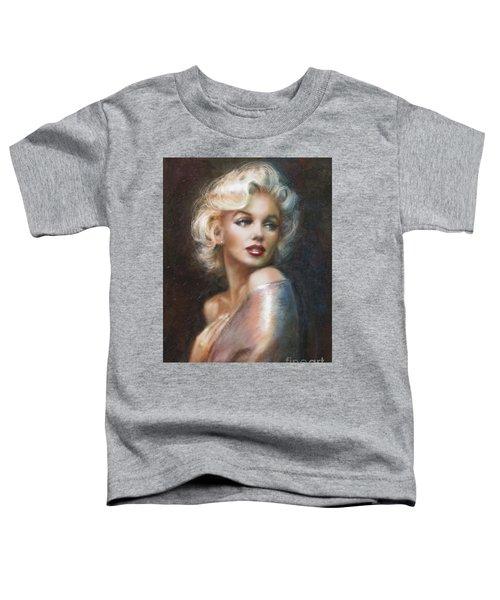 Marilyn Ww Soft Toddler T-Shirt by Theo Danella