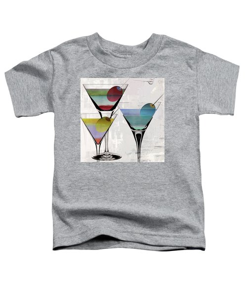 Martini Prism Toddler T-Shirt by Mindy Sommers