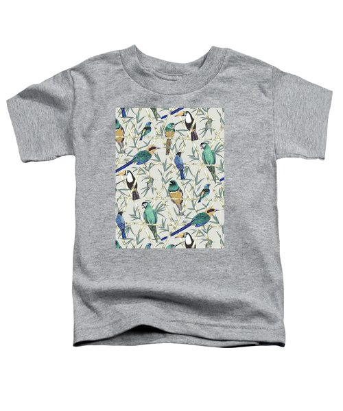 Menagerie Toddler T-Shirt by Jacqueline Colley