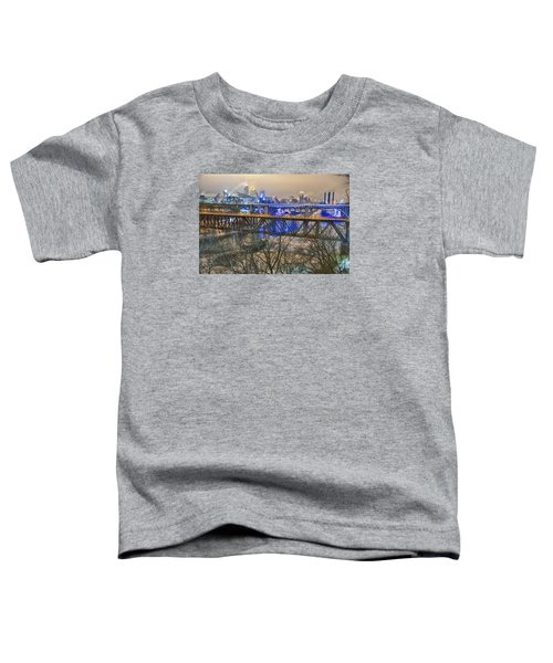 Minneapolis Bridges Toddler T-Shirt by Craig Voth