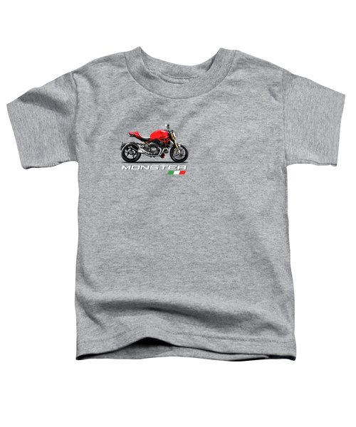 Monster 1200 Toddler T-Shirt by Mark Rogan