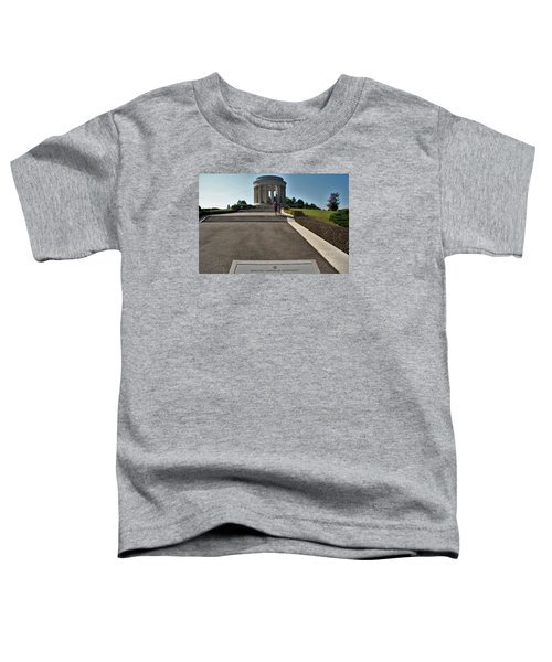 Toddler T-Shirt featuring the photograph Montsec American Monument by Travel Pics