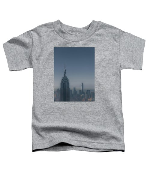 Morning In New York Toddler T-Shirt by Chris Fletcher