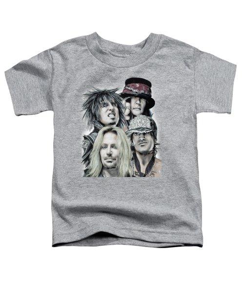Motley Crue Toddler T-Shirt by Melanie D