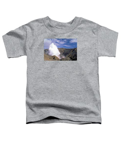 Toddler T-Shirt featuring the photograph Mount Aso by Travel Pics