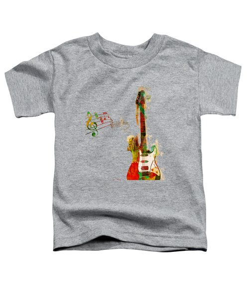 My Guitar Can Sing Toddler T-Shirt by Nikki Smith