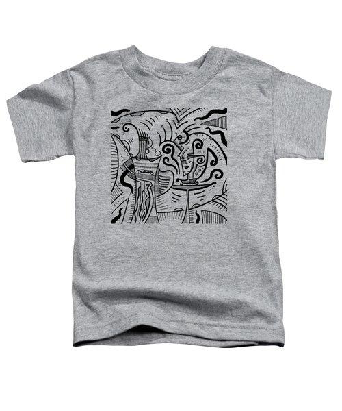 Mystical Powers Toddler T-Shirt by Erki Schotter