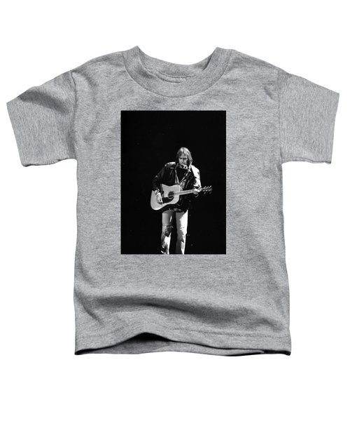 Neil Young Toddler T-Shirt by Wayne Doyle