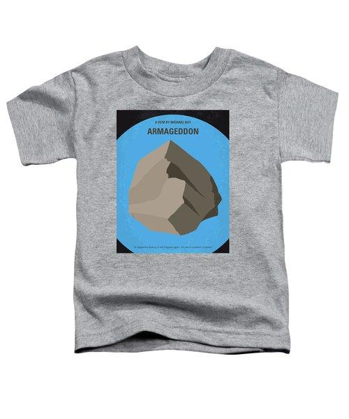 No695 My Armageddon Minimal Movie Poster Toddler T-Shirt by Chungkong Art