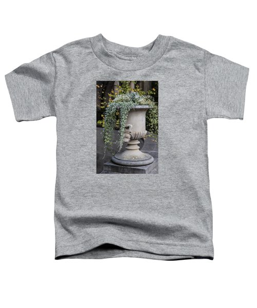 Penn State Flower Pot  Toddler T-Shirt by John McGraw