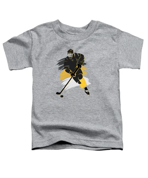 Pittsburgh Penguins Player Shirt Toddler T-Shirt by Joe Hamilton