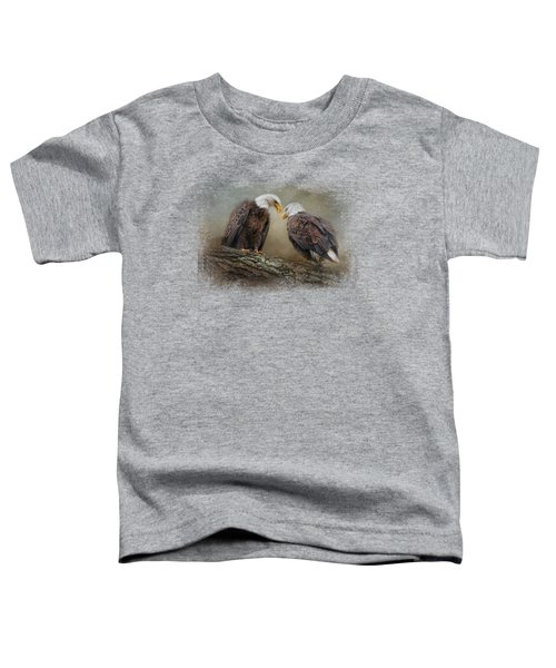 Quiet Conversation Toddler T-Shirt by Jai Johnson