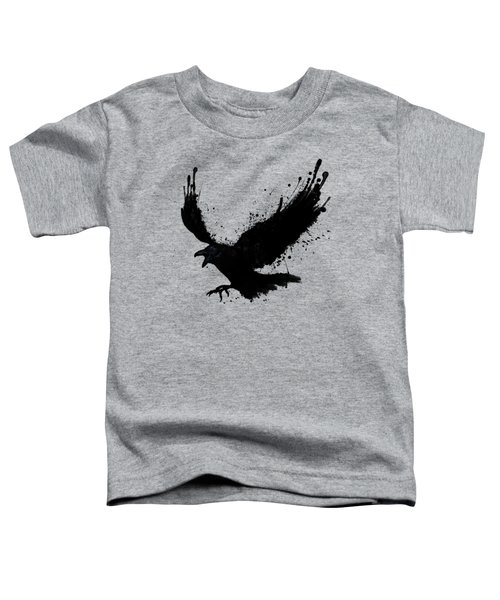 Raven Toddler T-Shirt by Nicklas Gustafsson