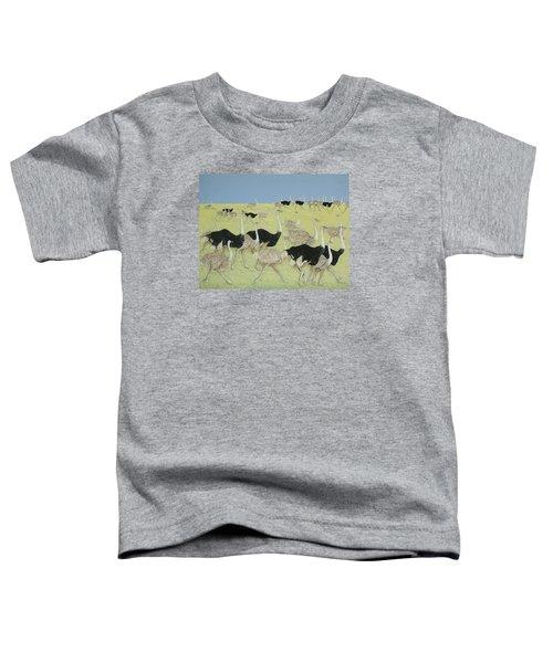 Rush Hour Toddler T-Shirt by Pat Scott