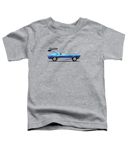 Shelby Mustang Gt500 1968 Toddler T-Shirt by Mark Rogan