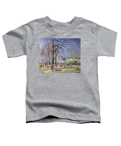 Spring In Hyde Park Toddler T-Shirt by Alice Taite Fanner