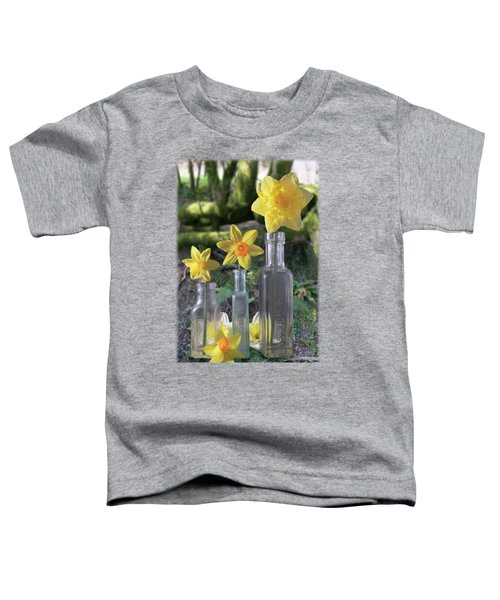 Still Life In The Woods Toddler T-Shirt by Jon Delorme