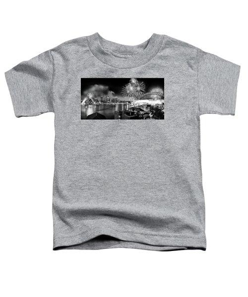 Sydney Spectacular Toddler T-Shirt by Az Jackson