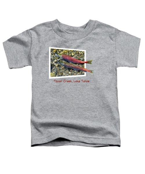 Taylor Creek, Lake Tahoe Toddler T-Shirt by David Lawson