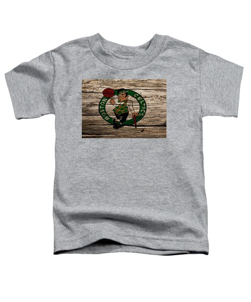 The Boston Celtics W1 Toddler T-Shirt by Brian Reaves