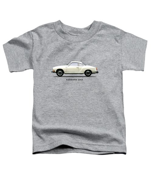 The Karmann Ghia Toddler T-Shirt by Mark Rogan