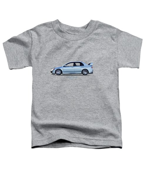 The Lancer Evolution Viii Toddler T-Shirt by Mark Rogan