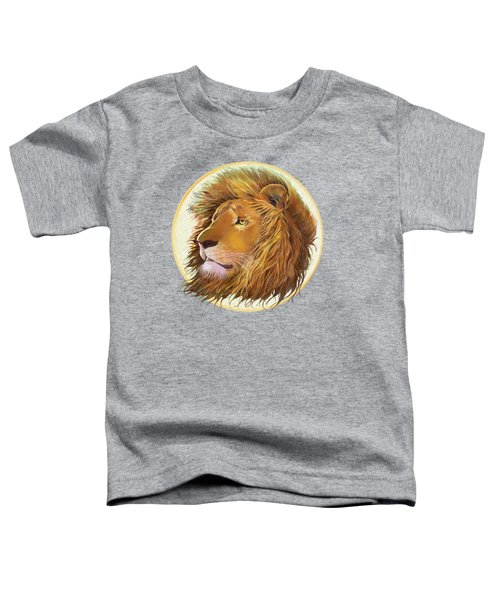 The One True King - Color Toddler T-Shirt by J L Meadows