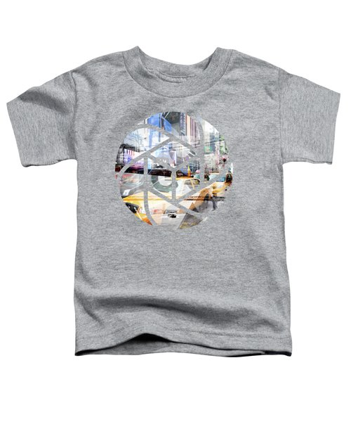 Trendy Design Nyc Geometric Mix No 9 Toddler T-Shirt by Melanie Viola