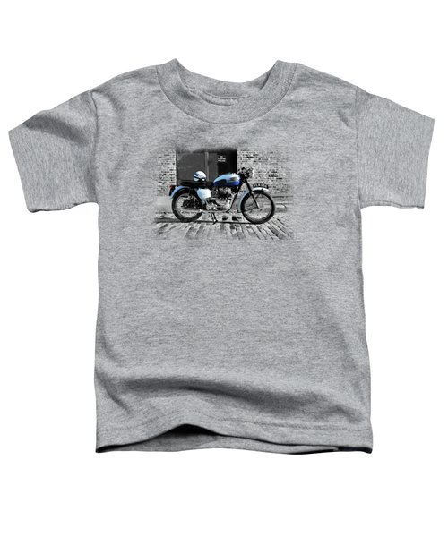 Triumph Bonneville T120 Toddler T-Shirt by Mark Rogan