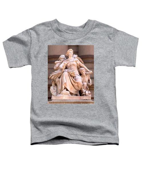 U S Custom House 4 Toddler T-Shirt by Randall Weidner