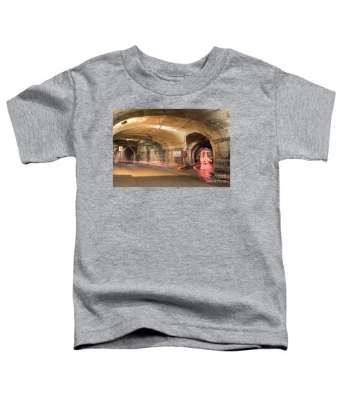 Underground Tunnels In Guanajuato, Mexico Toddler T-Shirt by Juli Scalzi