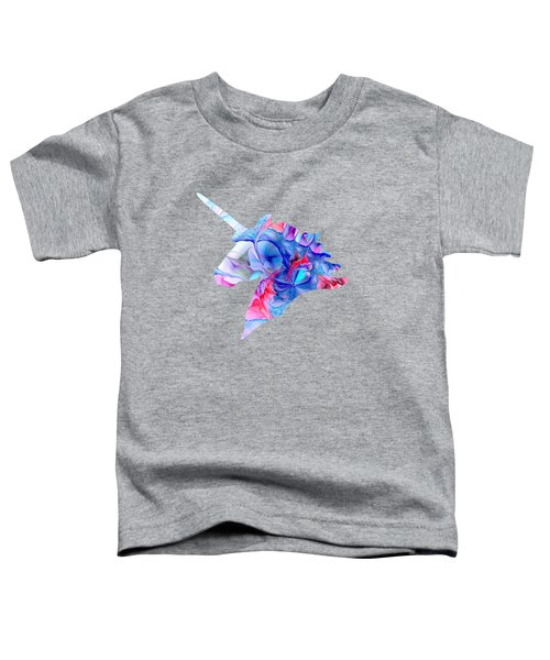 Unicorn Dream Toddler T-Shirt by Anastasiya Malakhova