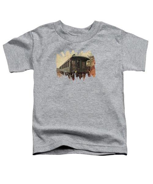 Virginia City Pullman Toddler T-Shirt by Thom Zehrfeld