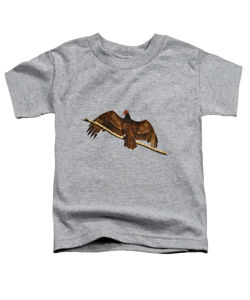 Vivid Vulture .png Toddler T-Shirt by Al Powell Photography USA