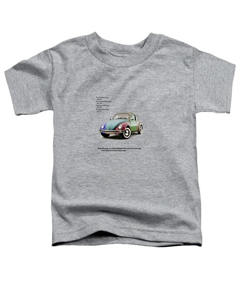 Vw Parts Toddler T-Shirt by Mark Rogan