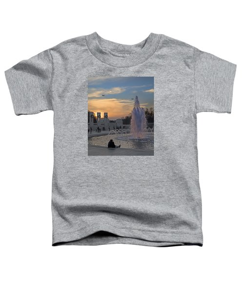Washington Dc Rhythms  Toddler T-Shirt by Betsy Knapp