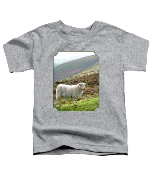 Welsh Mountain Sheep Toddler T-Shirt by Gill Billington