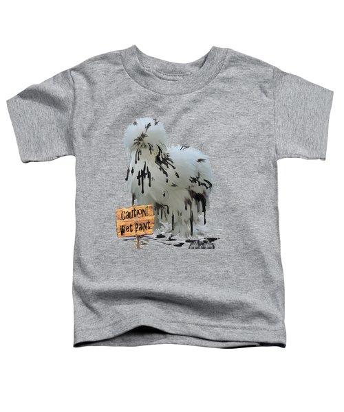 Wet Paint Toddler T-Shirt by Gilda Goodwin
