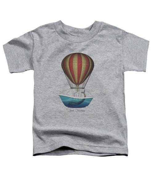 Seek Sanctuary Toddler T-Shirt by Galen Valle