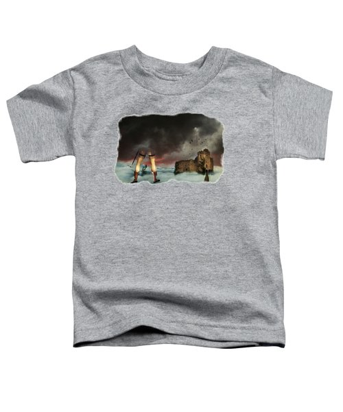 Where Giants Dwell Toddler T-Shirt by Terry Fleckney