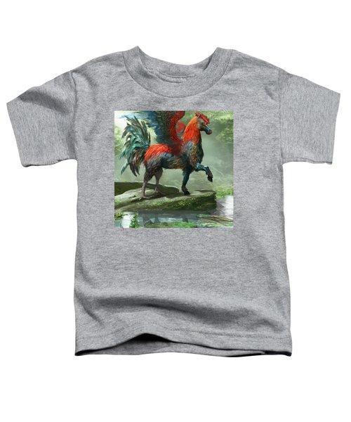 Wild Hippalektryon Toddler T-Shirt by Ryan Barger